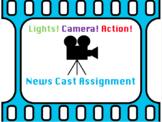 News Cast Assignment