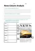 News Column/Article Analysis