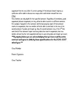 News Crew Contract