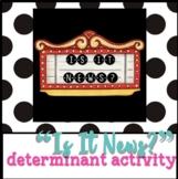News Determinant Activity