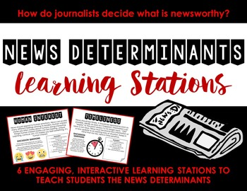 News Determinants Learning Stations -- Journalism or Newspaper (News Values)