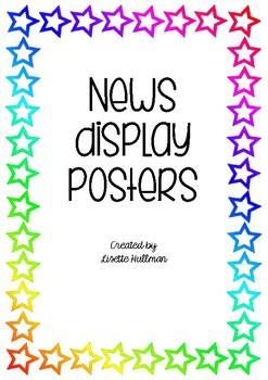 News Display Poster