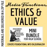 News Ethics, Functions & Value - Mass Media Unit Bundle (PowerPoints + Test)