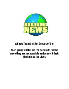 News Group Unit (one group per week)