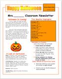 News Letter Idea October