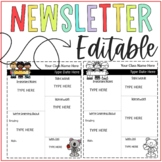 NewsLetter Template Monthly and Weekly **Editable**
