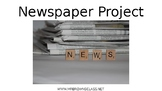News Paper Project (Editable, Collaborative Group)