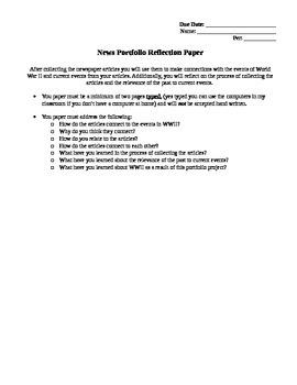 News Portfolio Project