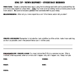 News Report Writing Assignment