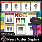 News Roster Display Editable