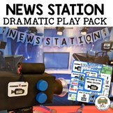 News Station Dramatic Play Pack for Pre-K, Preschool and Tots