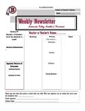 News letter Sample (template 1)