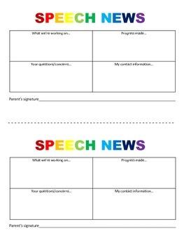 News letter for parents