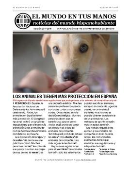 News summaries for Spanish students: February 5, 2018