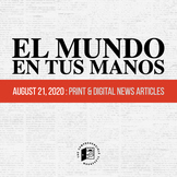 News summaries in Spanish: August 21, 2020 DISTANCE LEARNING