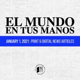 News summaries in Spanish: JANUARY 1, 2021 DISTANCE LEARNING