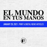 News summaries in Spanish: JANUARY 29, 2021 DISTANCE LEARNING