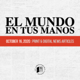 News summaries in Spanish: October 16, 2020 DISTANCE LEARNING