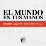 News summaries in Spanish: September 4, 2020 DISTANCE LEARNING