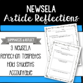 NewsEla Article Reflections - Distance Learning Resource