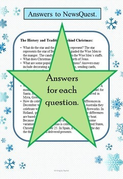 FREEBIE! WebQuest: The History of Christmas (mini version)