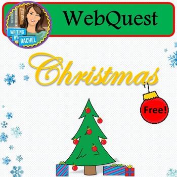 FREEBIE! WebQuest: The History of Christmas (mini version)