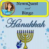 The History of Hanukkah WebQuest and Bingo (Chanukah)