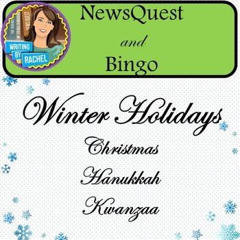 WebQuest and Bingo: Winter Holidays-- Christmas, Hanukkah,