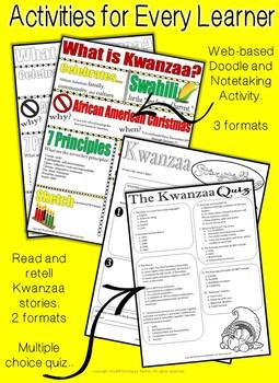 The History of Kwanzaa: WebQuest and Bingo