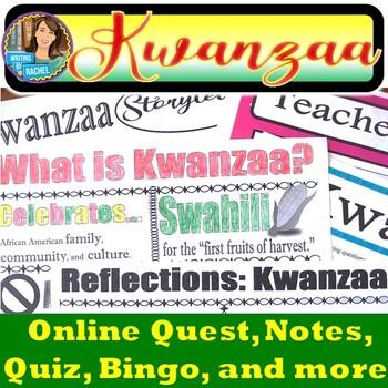 WebQuest and Bingo: The History of Kwanzaa