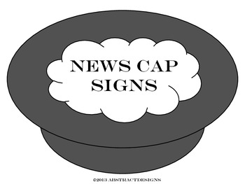 Newsboy Cap Signs