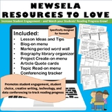 Newsela Resources to Love: Writing, Blogging, Word Walls, Quote Cards, & Data