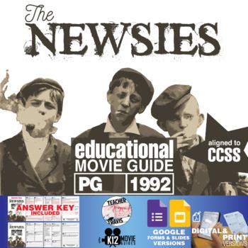 Newsies Movie Guide | Questions | Worksheet (PG - 1992)