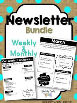 Newsletter Bundle | Weekly & Monthly