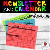 Newsletter & Calendar Combination