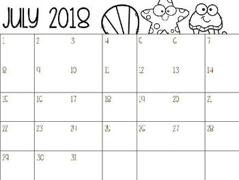 Newsletter & Calendar Templates {Editable}