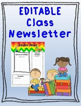 Newsletter Chevron EDITABLE