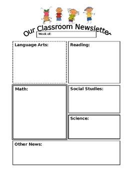 Newsletter - Editable