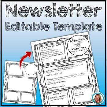 Newsletter - Editable Free