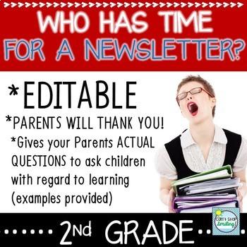Newsletter Editable Freebie ~ Newsletter Template