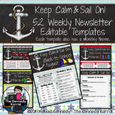 Editable Newsletter Template: Anchors