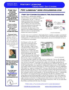 Newsletter - Two Anniversaries, Bill Clinton and Rosa Parks
