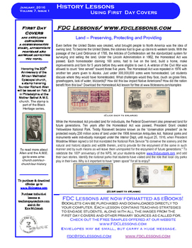 Newsletter - Homestead Act and National Park Service