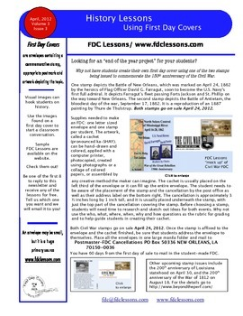 Newsletter - How to Make a First Day Cover