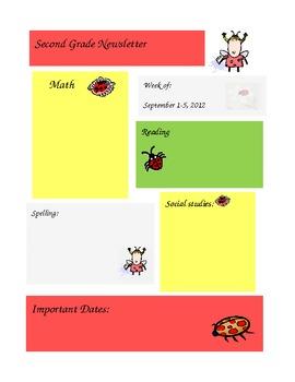 Newsletter (Ladybugs)