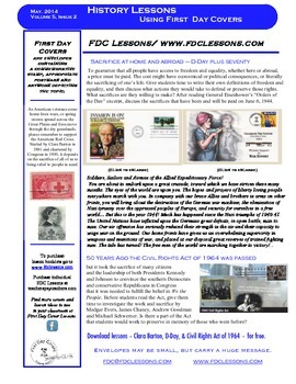 Newsletter - Anniversaries of D-Day and Civil Rights Act of 1964