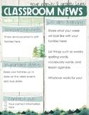 Newsletter - Mountain Theme