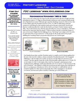 Newsletter - Gettysburg & JFK, One hundred Years Apart