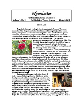 "Newsletter ""Spring"" 1 of 4"