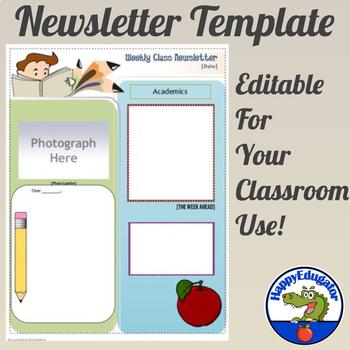 Newsletter Template Editable
